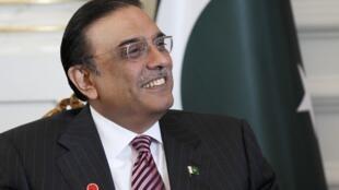 Asif Ali Zardari, ici à Istanbul, le 1er novembre 2011.
