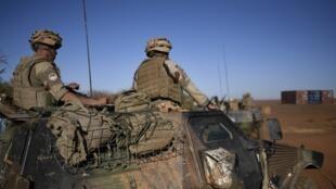 Des soldats français au Sahel en janvier 2017 (photo d'illustration).