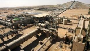 Le site d'extraction d'uranium d'Areva à Arlit, dans le nord du Niger (photo d'illustration).