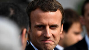 法国总统马克龙于2017年7月