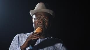 L'ancien Premier ministre togolais Agbeyomé Kodjo, à Kpalime, le 19 février 2020.