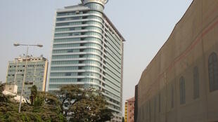 Sede da empresa petrolífera estatal angolana Sonangol, em Luanda.