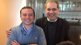 Os cientistas políticos Alfredo Valladão e Gaspard Estrada, da Universidade Sciences Po, de Paris.