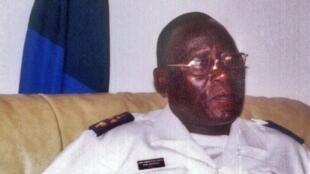 Bubo Na Tchuto, contra-almirante, em Banjul (Gambia),  12 julho 2008.