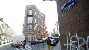 Rua Henri Berge, em Schaerbeek, região metropolitana de Bruxelas.