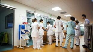 Service d'urgences de l'Hôpital Robert Ballanger à Aulnay-sous-Bois, en région parisienne. (Photo d'illustration).