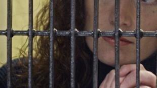 La francesa Florence Cassez encarcelada en México por secuestro.