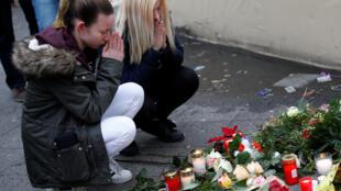 Homenagem às vítimas do ataque em Berlim.