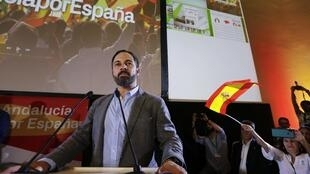 Santiago Abascal, le leader de Vox.