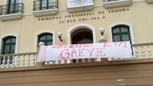 Greve no sector da justiça em Angola