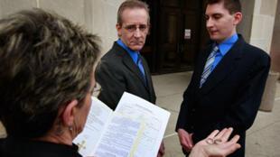 Bang Iowa thông qua luật hôn nhân đồngt ính vào năm 2009 (AFP)