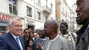 Jean-Marc Ayrault in Marseille on Friday