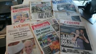 Diários franceses 24.05.2016