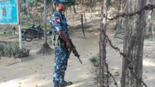 Một nơi dự kiến đón người Rohingya hồi hương ở bang Rakhine. Ảnh ngày 24/01/2018.