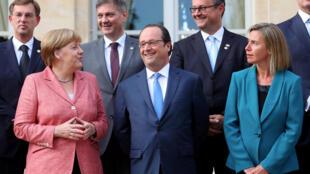 Саммит балканских стран в Париже, 4 июля 2016.