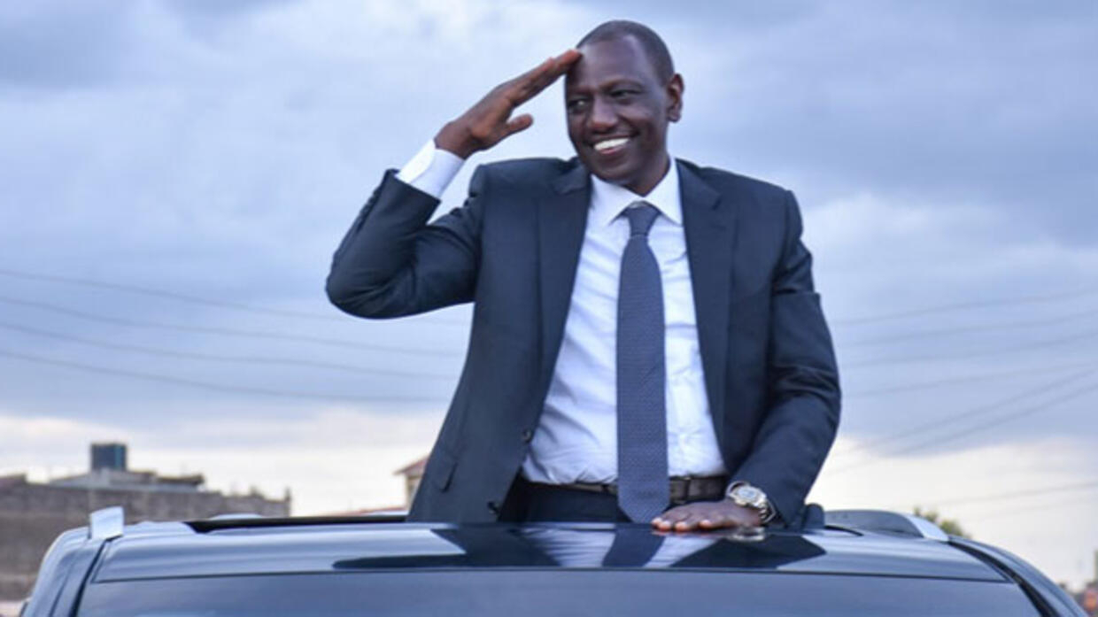 William Ruto's presidential bid in peril after multibillion arms procurement scam linked to his office