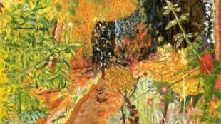 Le Jardin- Khu vườn (1936-1938). Tranh sơn dầu- P. Bonnard
