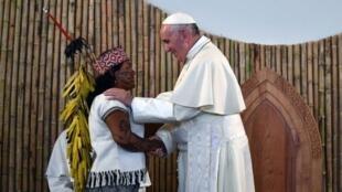 O papa Francisco publicou nesta quarta-feira (12) a Exortação Querida Amazônia.