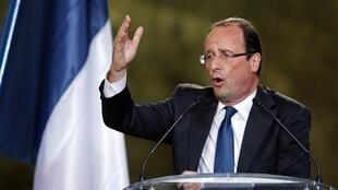 Segundo Le Monde, François Hollande, candidato do Partido Socialista (foto), e Jean-Luc Mélenchon, da Frente de Esquerda, são os candidatos que dedicam mais atenção ao meio ambiente em seus programas.