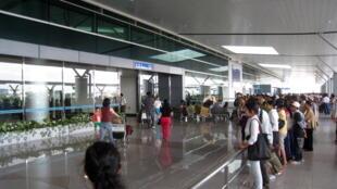 Sân bay quốc tế Tân Sơn Nhất.
