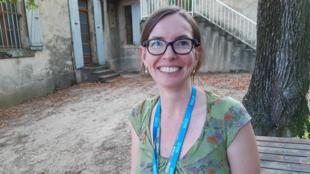 Solène Borne, Unité Expérimentale de Recherche Intégrée de l'INRA à Gotheron.