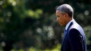 Президент США Барак Обама, 24 августа 2015.