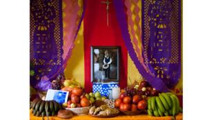Autel traditionnel du jour des morts.