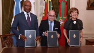 Acordo de cooperação entre Moçambique, Argentina e Portugal assinado em Buenos Aires a 19 de Março de 2019.