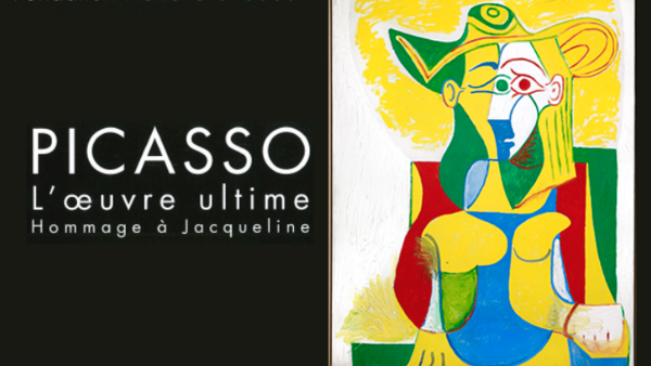 Affiche de l'exposition «Picasso, l'œuvre ultime: hommage à Jacqueline», organisée par la fondation Pierre Gianadda à Martigny, en Suisse.