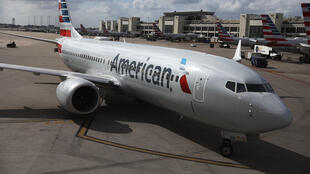 Самолет Boeing 737 MAX 8 компании American Airlines в аэропорте Майами, март 2019 г.