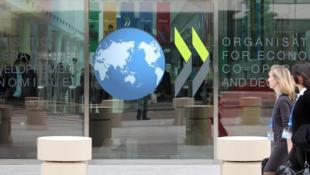 Sede da OCDE (Organização para a Cooperação e Desenvolvimento Económico).