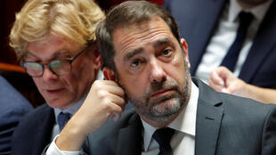 rench Interior Minister Christophe Castaner during question time at the National Assembly last month