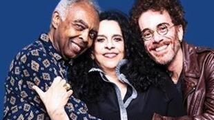 Gilberto Gil, Gal Costa e Nando Reis se apresentaram em Paris nesta sexta-feira (17).