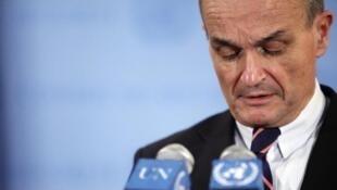 The French ambassador to the UN, Gérard Araud