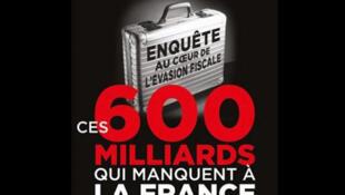 """Carátula del libro """"Esos 600 mil millones que le faltan a Francia""""."""