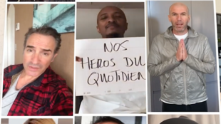 Capture d'écran de la vidéo du collectif « Et demain ? ». Plus de 350 personnalités, artistes, sportifs, journalistes, se sont mobilisés pour chanter à l'unisson « Et demain ? »