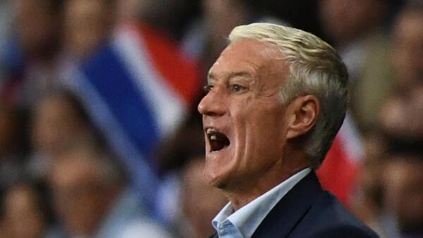 Didier Deschamps, técnico da seleção francesa de futebol.