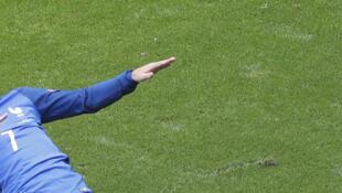 Antoine Griezmann metió dos goles y Francia este 26 de junio de 2016 y Francia pasa a cuartos.