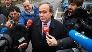Michel Platini, presidente da UEFA.