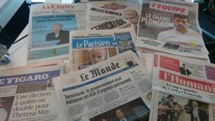 Diários franceses 08.06.2017