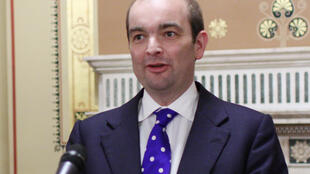 Duddridge speaking at Whitehall, London in March 2015.