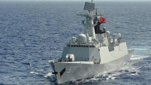 Hình minh họa: Hộ tống hạm loại 054A thuộc lớp Giang Khải II (Jiangkai II) của quân đội Trung Quốc trong đợt tập trận RIMPAC năm 2014.