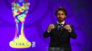 Cảnh rút thăm cho World Cup U20, ngày  le 15/03/2017.