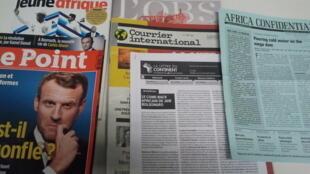 Capas dos semanários de 11/01/2020 publicados em França