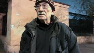 Виктор Кудрявцев на свободе, у ворот СИЗО