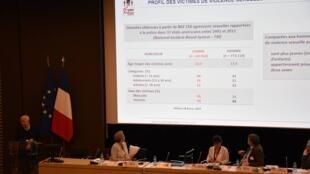 Agressões sexuais praticadas por mulheres é tema de debate em Paris.
