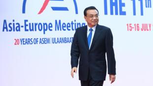 Thủ tướng Trung Quốc tại thượng đỉnh Á -Âu, ASEM, Mông Cổ, ngày 15/07/2016.