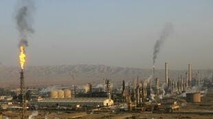 The Baiji oil refinery