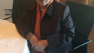 Maria de Fátima Jardim, ministra angolana do ambiente, em Paris a 4 de Dezembro de 2015