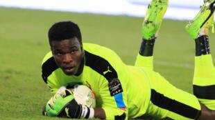 Fabrice Ondoa, gardien du Cameroun à la CAN 2017.